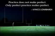 Practice perfect Makes sense in school too A ditto of 20 practice problems is worthless and detrimental without checks for understanding to ensure its done right Have stu. Flag Football, Panthers Football, Vikings Football, Football Is Life, Football Season, Baseball, Golf Quotes, Sport Quotes, Inspirational Football Quotes