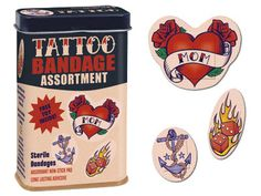 tattoo bandages :D