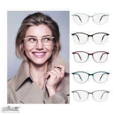 e14e4fffa 25 Best Silhouette Urban Fusion Fullrim Eyeglasses images | Eye ...