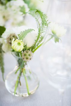 #posies, #scabiosa-pod  Photography: Silvana Difranco - silvanadifranco.com  Read More: http://www.stylemepretty.com/2014/02/20/gilroy-california-ranch-wedding/