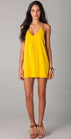Looks like a slip but do love the yellow.