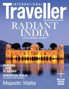 Issue 9 of International Traveller magazine, featuring a photographic journey through India.