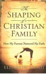 The Shaping of a Christian Family, by Elisabeth Elliot -- the story of how her parents raised their family Biblically and intentionally.  Love any book by this great lady.