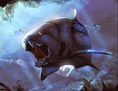 Mundo Pré-Histórico: Dunkleosteus - uma armadura poderosa