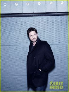 """Gerard Butler in promotional photo's for the new BOSS Bottled """"Man of Today"""" Campaign"""