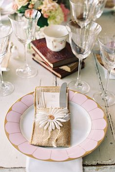 lavender china | Adam Barnes #wedding