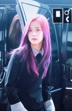 All About Kim Jisoo BLACKPINK Definition of perfection Fakta-fakta ra… # Acak # amreading # books # wattpad Blackpink Jisoo, Bright Purple Hair, Pastel Purple, Light Purple, Deep Purple, Kpop Girl Groups, Korean Girl Groups, Kpop Girls, Forever Young