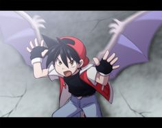 Red. He's 100 times a better pokemon trainer than... uuh you know.