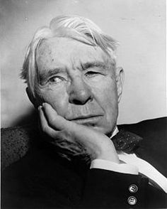 Carl Sandburg, Born in Galesburg Illinois, know as a Lincoln Biographer and Poet