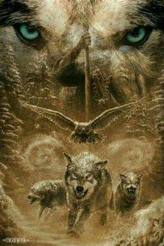 Viking Wolf Eye Tattoo, Wolf Pack Tattoo, Wolf Tattoos, Animal Tattoos, American Art, Wolf Eyes, Wolf Totem, Werewolves, Giraffe