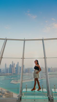 halioduor on Instagram: I know you know about @burjkhalifa but have you heard of the @theviewpalm ? Stunning 360- degree views 240 meters above the world famous… Dubai Places To Visit, I Know You Know, World Famous, Adventure Travel, Knowing You, Audio, The Originals, Outdoor Decor, Instagram