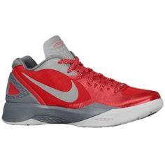 48094567376efe Nike Zoom Hyperdunk 2011 Low PE - Men s - Basketball - Shoes - Sport  Red Cool Grey Metallic Silver