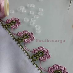 Çok Zarif ve Değişik Tığ İşi Oya Modelleri Lily, Crafty, Jewelry, Free, Fashion, Knitting And Crocheting, Tricot, Dots, Needlepoint