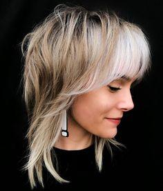 Haircuts For Fine Hair, Medium Shag Haircuts, Layered Haircuts, Everyday Hairstyles, Pixie Hairstyles, Straight Hairstyles, Edgy Bob Haircuts, Short Hairstyles For Women, Medium Length Hair Cuts With Layers