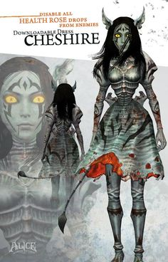 Cheshire - American McGees Alice Wiki - Madness Returns!