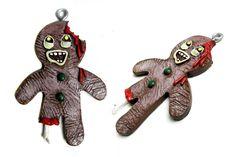 zombie gingerbread ornament-  Miranda-  we neeeeeeeed this!
