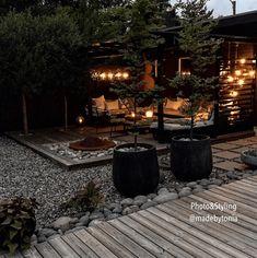 Hydrangea Landscaping, Modern Landscaping, Backyard Landscaping, Landscape Design, Garden Design, Black Garden, Terrace Garden, Dream Garden, Garden Planning