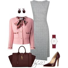 A fashion look from February 2017 featuring Fenn Wright Manson dresses e Yves Saint Laurent shoulder bags. Browse and shop related looks.