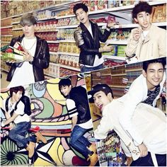 2014 // GOT7 - A, u got me, just go, forever young