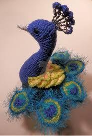 Resultado de imagen para peacock crochet