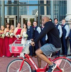 My local bike share posted this photobomb.
