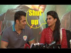 Why Jacqueline Fernandez says SHUT UP to Salman Khan during interview.