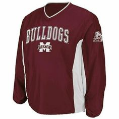 Mississippi State Bulldogs Coaches Pullover Jacket