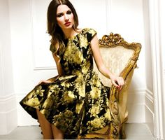 Gold & Black Prom Dress    **UNIQUE COLLECTIONS**     *Official Sponsors of Keeping Up With The Kardashians*    http://wagworld.co.uk/forever-unique-doris-gold-black-prom-dress-3    #fashion #kimkardashian #kardashians