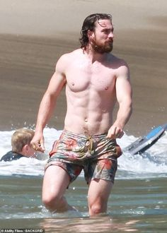 Hunk: Aaron Taylor-Johnson looked every inch the star as he displayed his hunky frame on t... Aaron Taylor Johnson, Man Crush, Physique, Crushes, Celebrities, Star, Frame, Physicist, Picture Frame