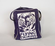 Flying Tigers Airline Bag by sevenbc on Etsy, $125.00