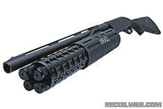 X-Rail shotgun, guns, weapons, self defense, protection, protect, knifes, concealed, 2nd amendment, america, 'merica, firearms, caliber, ammo, shells, ammunition, bore, bullets, munitions #guns #weapons