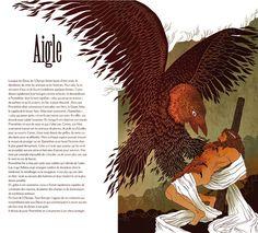 Troisième version de l'aigle prométhéen. - Nancy Peña