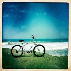 My bike in Portugal : Electra