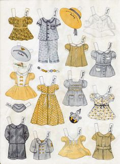 Play House Paper Dolls