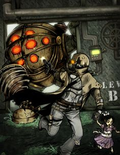 """Post with 2147 votes and 126811 views. Tagged with gaming, dump, fallout fallout new vegas, radioactive; Shared by """"no machine should have free will. you jealous you had to turn yours in? Fallout Comics, Fallout Funny, Fallout Fan Art, Fallout Concept Art, Bioshock Rapture, Bioshock Infinite, Bioshock Game, Video Game Art, Video Games"""