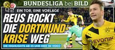 Since I watched (reading live ticker) 4 goals for BVB (it was 0:1, as I found out that BVB played today, now after the game: 4:2 lol), Marco Reus' devotion w/ result: BVB is back! 2:2 happened as I wrote the word 'lost' in 'Since I watch,2 goals for BVB..felt sorry for Reus' devotion,if BVB lost';after I deleted it: 3:2 -  2 of 4 goals by astro #snake #Reus+#Aubameyang…
