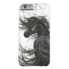 Majestic Mustang Horse by BiHrLe iPhone 6 case Artwork designed by AmyLynBihrle. Made by Case-Mate in Norcross, GA.