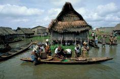 Fishing Villiage  Ganvie, Benin