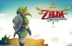 """""""The Legend of Zelda: Skyward Sword"""" Released by Nintendo on the Wii in 2011. Characters: Link, Princess Zelda and Ganondorf."""