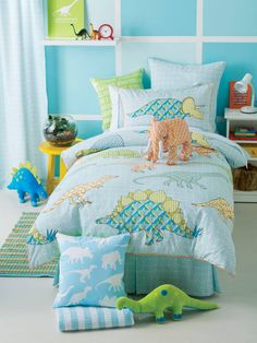 Retro Dinosaurs Bedding by Hiccups