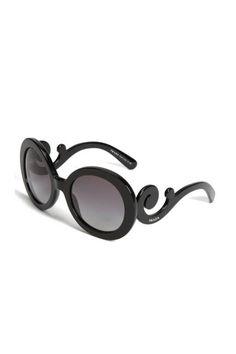 Prada's statement baroque sunglasses