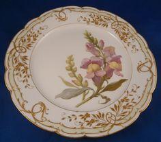 KPM Amazing Floral Plate #1