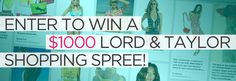 Women's Health and Lord & Taylor Perfect Paradise Style #Sweepstakes