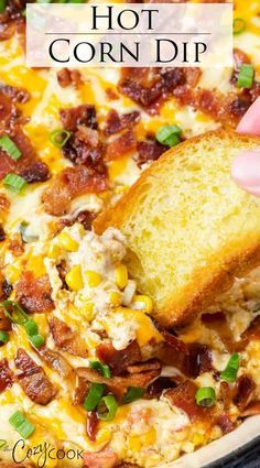Best Appetizer Recipes, Yummy Appetizers, Appetizers For Party, Mexican Food Recipes, Easy Summer Appetizers, Easy Appetizer Dips, Easy Appitizer, Cream Cheese Appetizers, Cream Cheese Corn