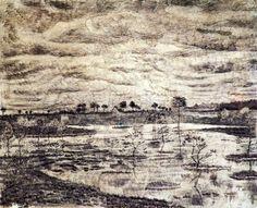 A Marsh - Vincent van Gogh