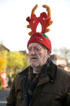 """No, I shan't. It's Christmas"""