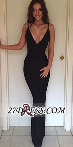 Cheap Backless Straps Sheath V-neck Sexy Summer Evening Dress BA3668_High Quality Wedding Dresses, Prom Dresses, Evening Dresses, Bridesmaid Dresses, Homecoming Dress - 27DRESS.COM