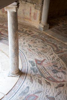 Villa Romana del Casale - Amatory Antechamber da Iggi Falcon Piazza Armerina #Sicily