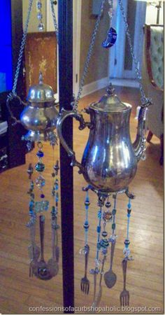 silverware wind chimes 1