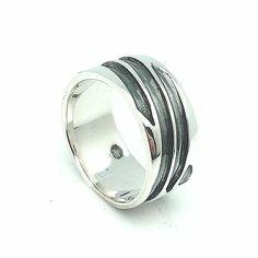 Anillo en plata de primera ley para hombre / Sterling Silver Ring for Men